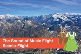The Sound of Music Flight - Sightseeing Flight 35 Minutes