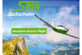 Amadeus Tour - Sightseeing Flight 20 Minutes