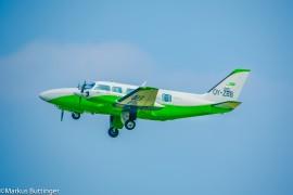Charterflug mit Piper PA-31-350 für 8-9 Personen